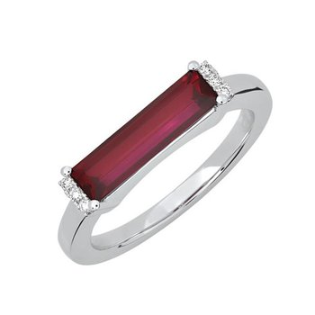 Ruby Ring-CR13126WRU