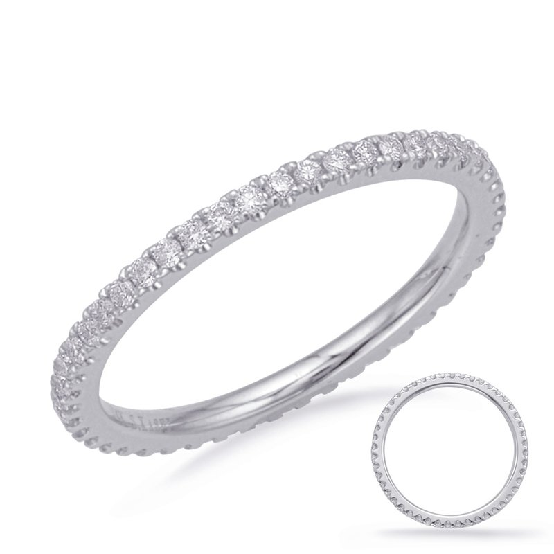 S. Kashi & Sons Bridal White Gold Eternity Band