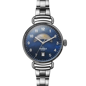 The Canfield Day And Night 38mm Womens Watch