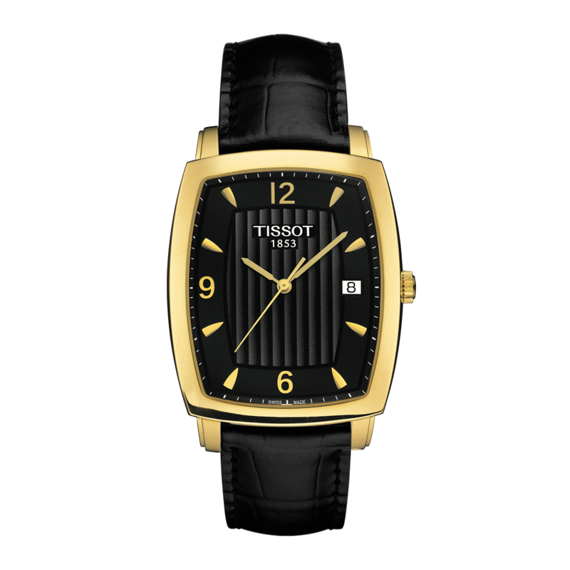 Tissot TISSOT SCULPTURE LINE QUARTZ 18K GOLD