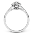 Simon G MR2946 ENGAGEMENT RING
