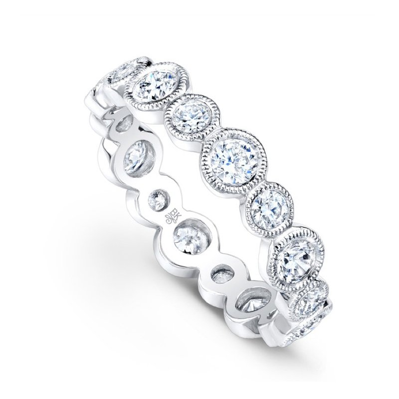 Beverley K Bezel Diamond Band