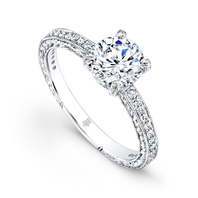Beverley K Classic Diamond Engagement Ring