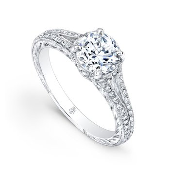 Split Shank Bridal Ring