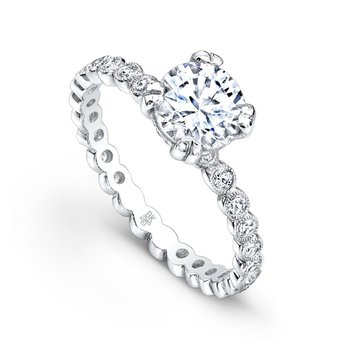 Bezel Diamond Bridal Ring