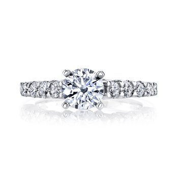 MARS 26343 Diamond Engagement Ring 0.74 ctw