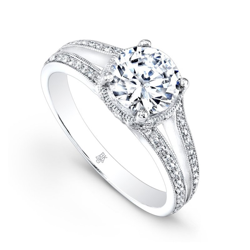 Beverley K Split Shank Bridal Ring