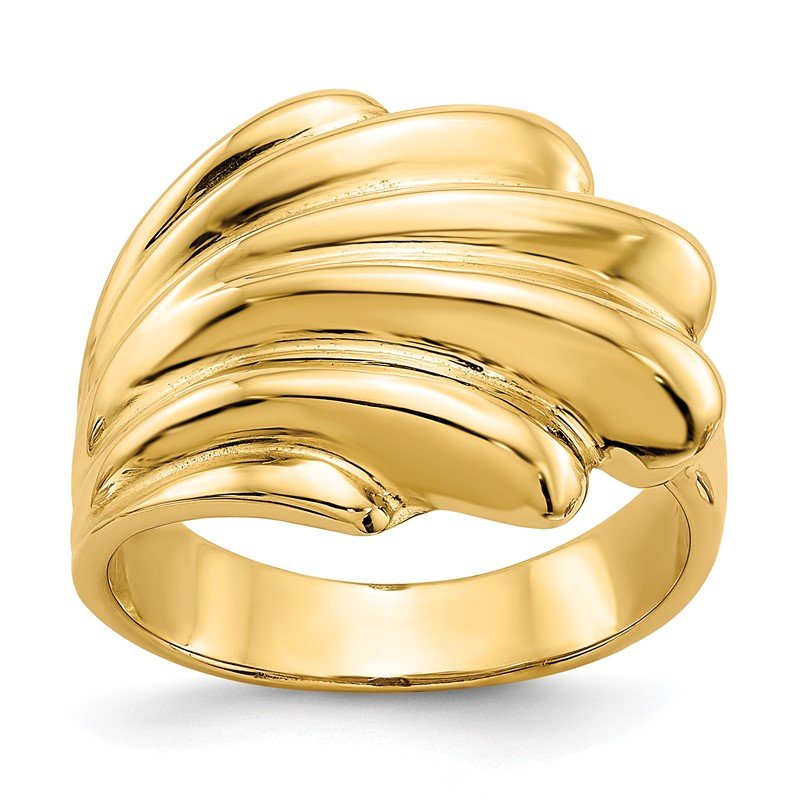 Quality Gold 14k High Polished Dome Ring