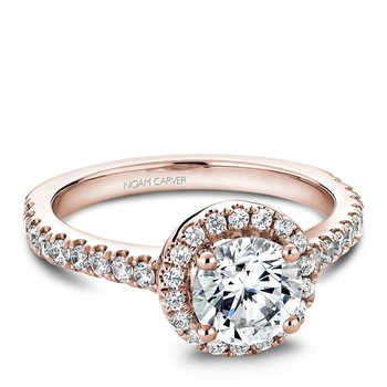 Noam Carver Modern Engagement Ring B029-01RA