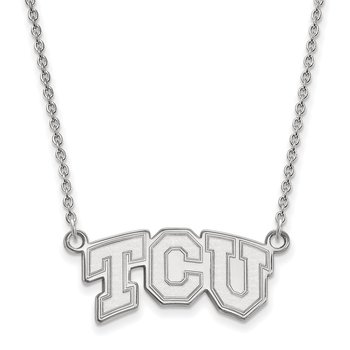 Gold Texas Christian University NCAA Necklace