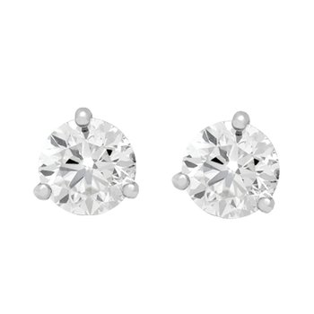 WS - Small Diamond Stud Earrings