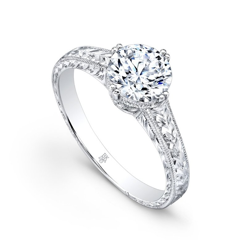 Beverley K Semi-Mount Engagement Ring