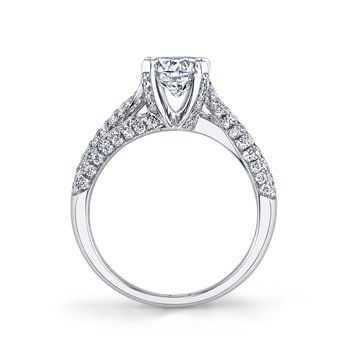25101 Diamond Engagement Ring 0.94 tc tw