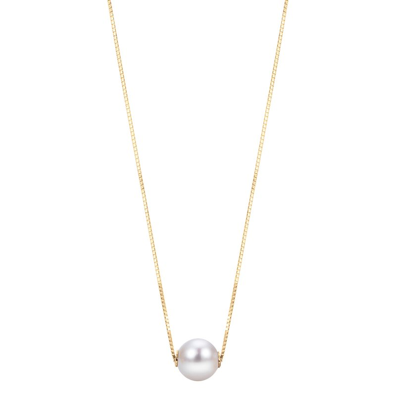 Imperial Pearl 14K Yellow Gold Akoya Pearl Necklace