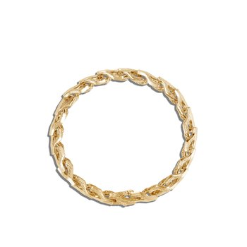 Asli Classic Chain 7MM Link Bracelet in 18K Gold
