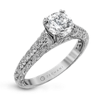 Zeghani ZR1070 ENGAGEMENT RING
