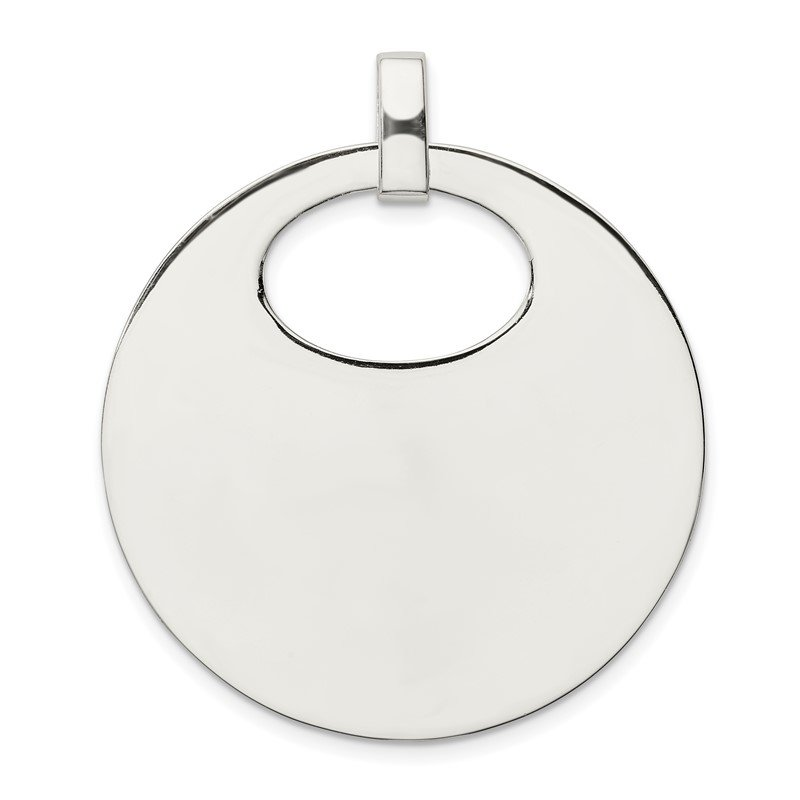Fine Jewelry by JBD Sterling Silver Polished Pendant