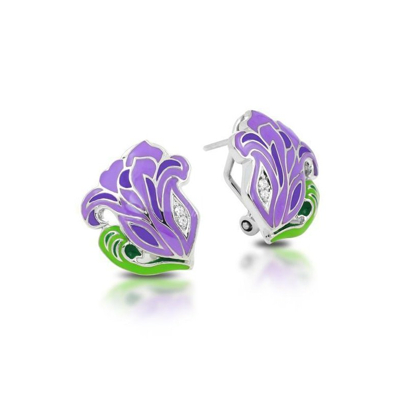 Belle Etoile Rose Nouveau Earrings