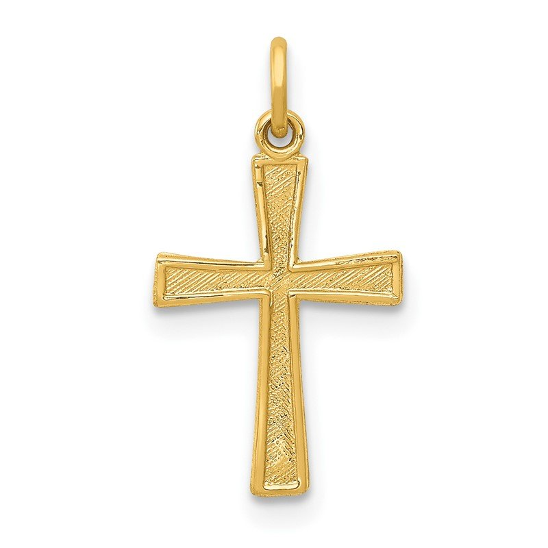 Quality Gold 14k Cross Charm