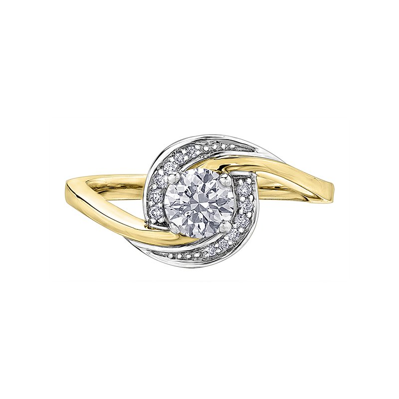 I Am Canadian Diamond Ladies Engagement Ring