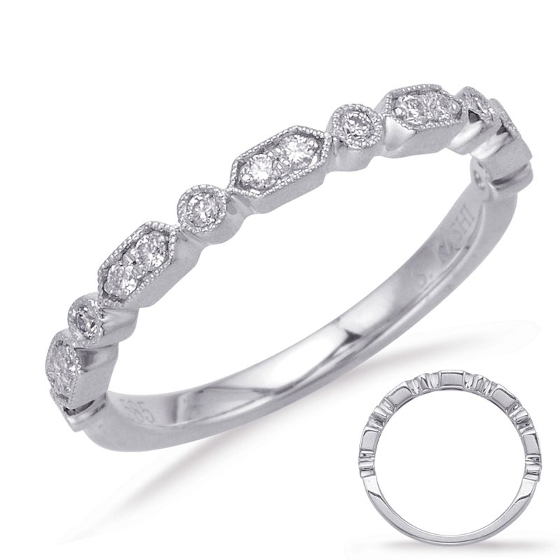 MAZZARESE Bridal White Gold Matching Band