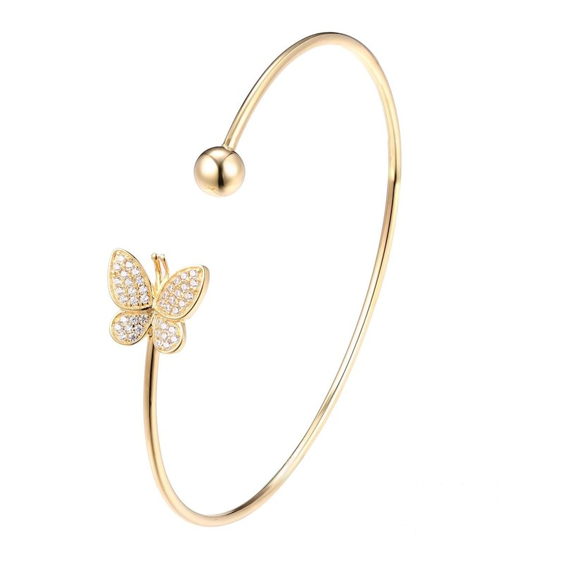 LARUS Jewelry Butterfly Bangle