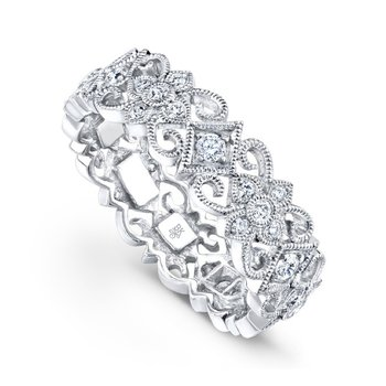 Diamond Floral Band