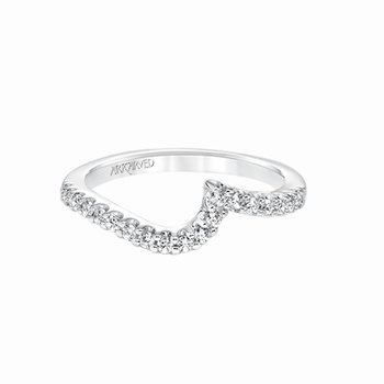 Bypass Diamond Wedding Band