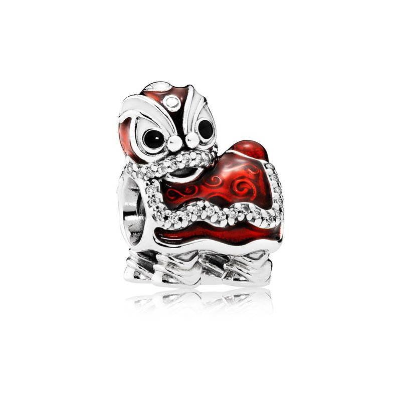 b7bb926ac Saxon's Diamond Centers: PANDORA Chinese Lion Dance Charm, Mixed Enamel