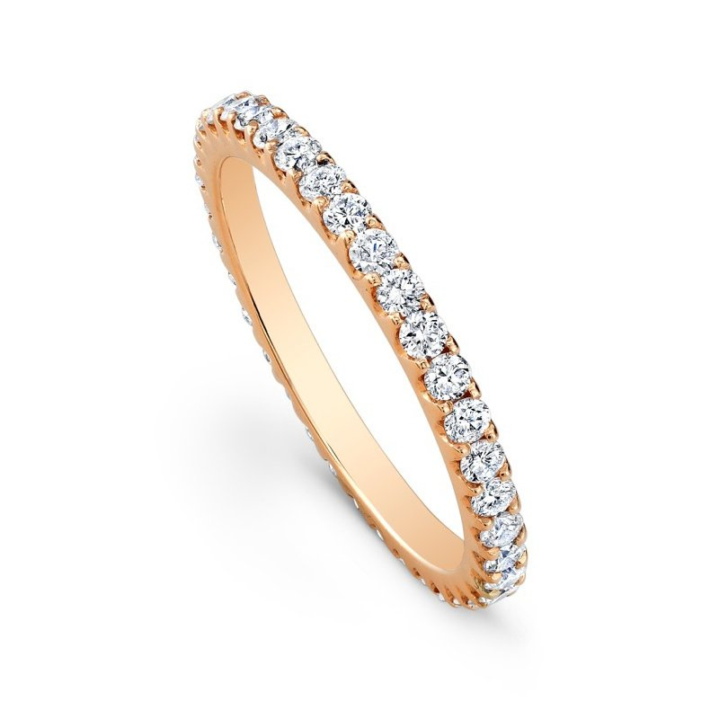 Beverley K Rose Gold Diamond Eternity Band