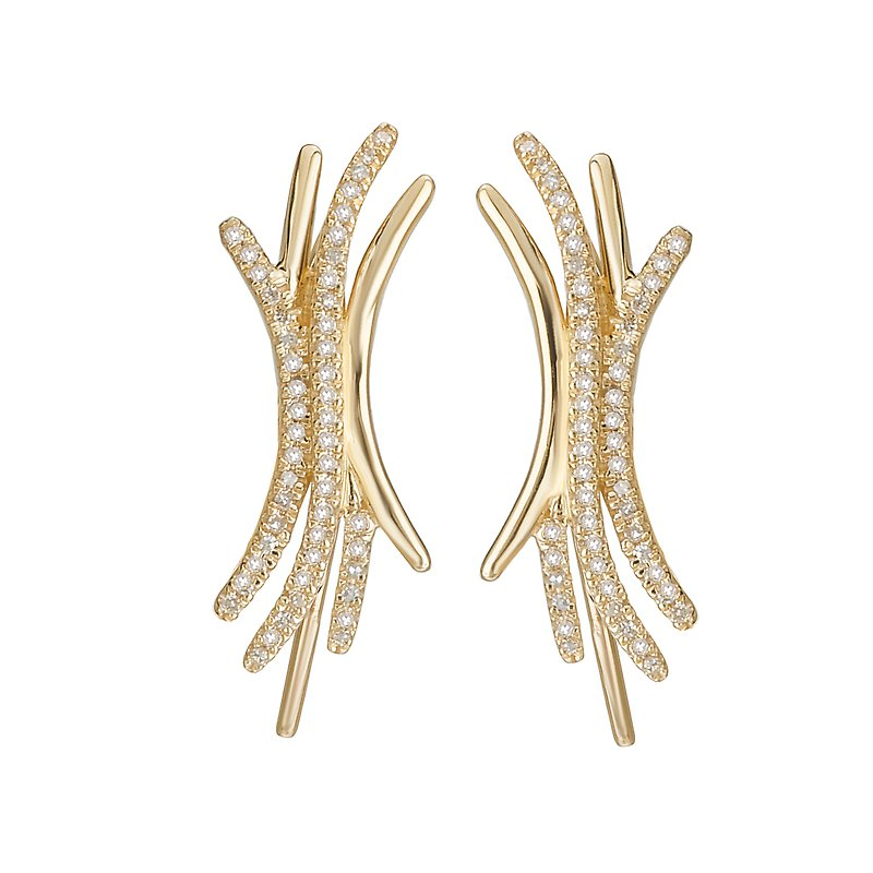 Tesoro Dangle Diamond Earrings
