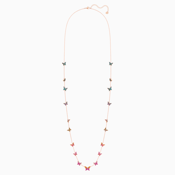 Lilia Strandage, Multi-colored, Rose-gold tone plated