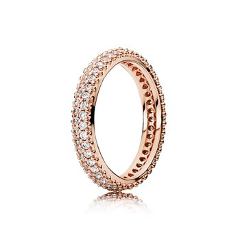 Inspiration Within Ring, Pandora Rose™ Clear Cz