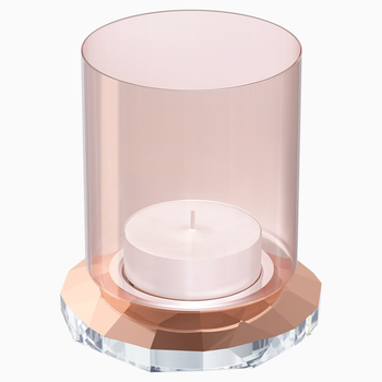 Allure Tea Light, Rose Gold Tone
