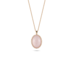 Roberto Coin Pendant with Diamonds, Quartz and Mother of Pearl