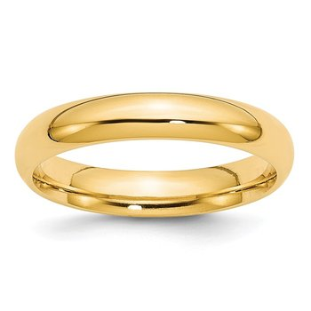 14k 4mm Comfort-Fit Band