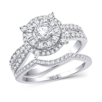 14K 1.00Ct Diam Bridal Ring