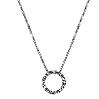 Ladies Fashion Circle Necklace