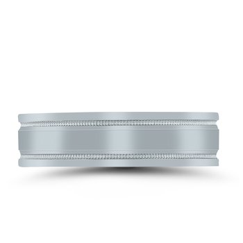 Men's Unique Inside Out Wedding Band - XNT16979