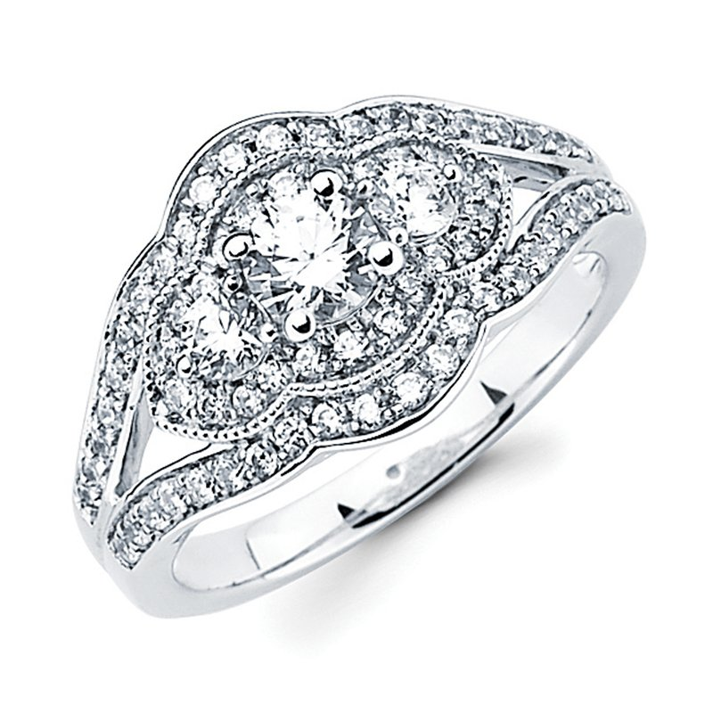 J.F. Kruse Signature Collection Ring RD B 0.16 RD B 0.47 RD P 0.38 STD