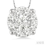 Barclay's Signature Collection lovebright essential diamond pendant