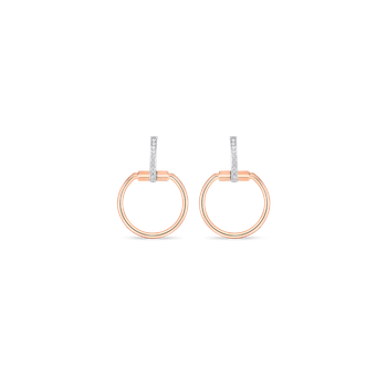 #19692 Of Earrings With Diamonds