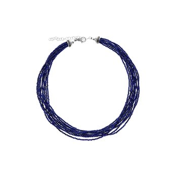 Ten Strand 2.5Mm Lapis Lazuli Beaded Necklace