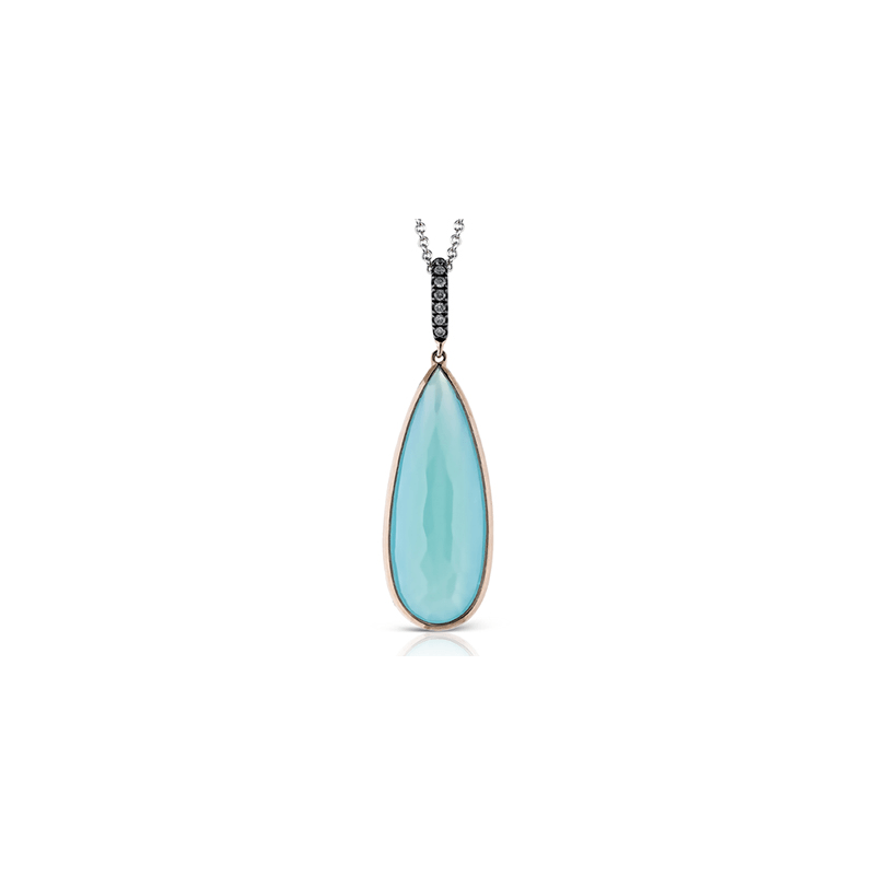 Zeghani ZP474 COLOR PENDANT