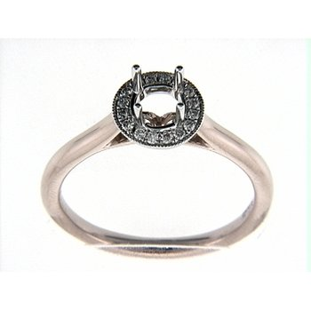 14K WR RING 16RD 0.11CT