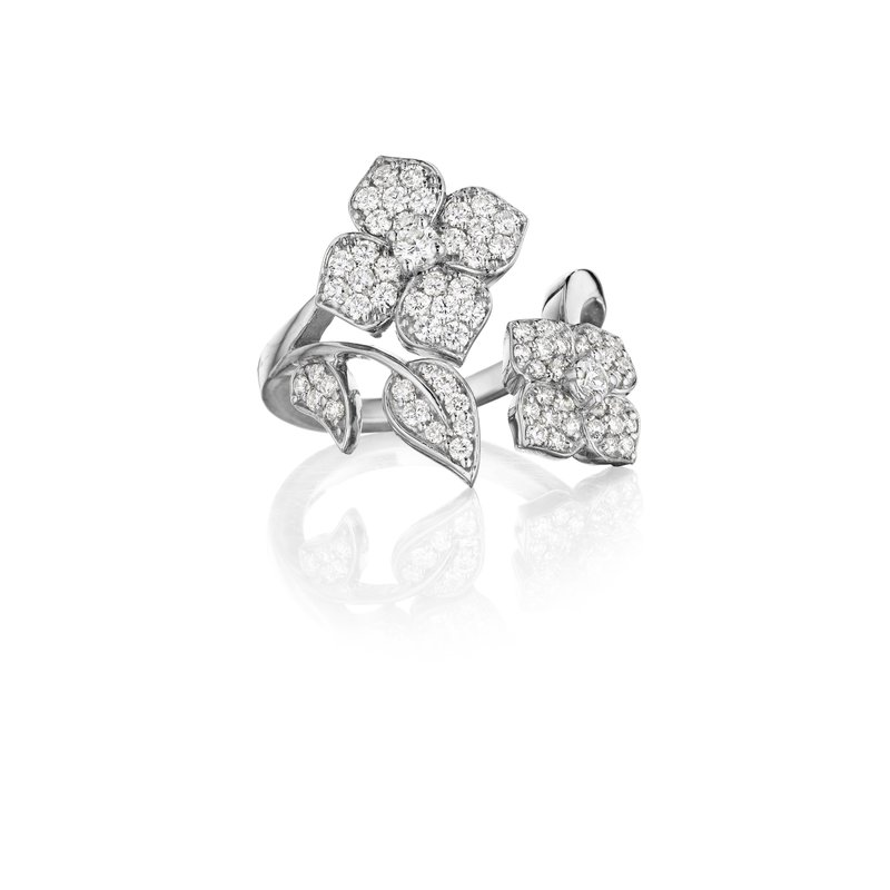 Penny Preville Flower & Leaf Ring