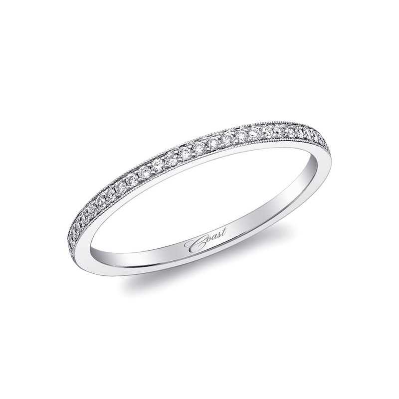 Coast Diamond Wedding Band