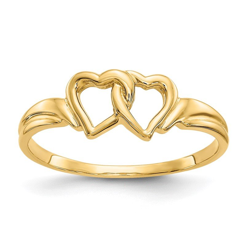 Quality Gold 14K Heart Ring