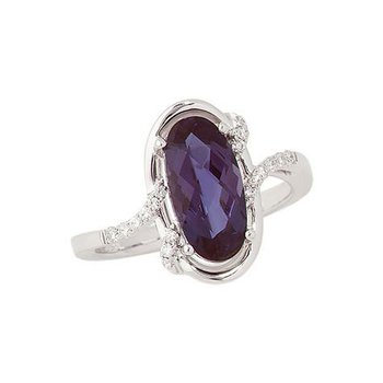 Alexandrite Ring-CR8256WAL