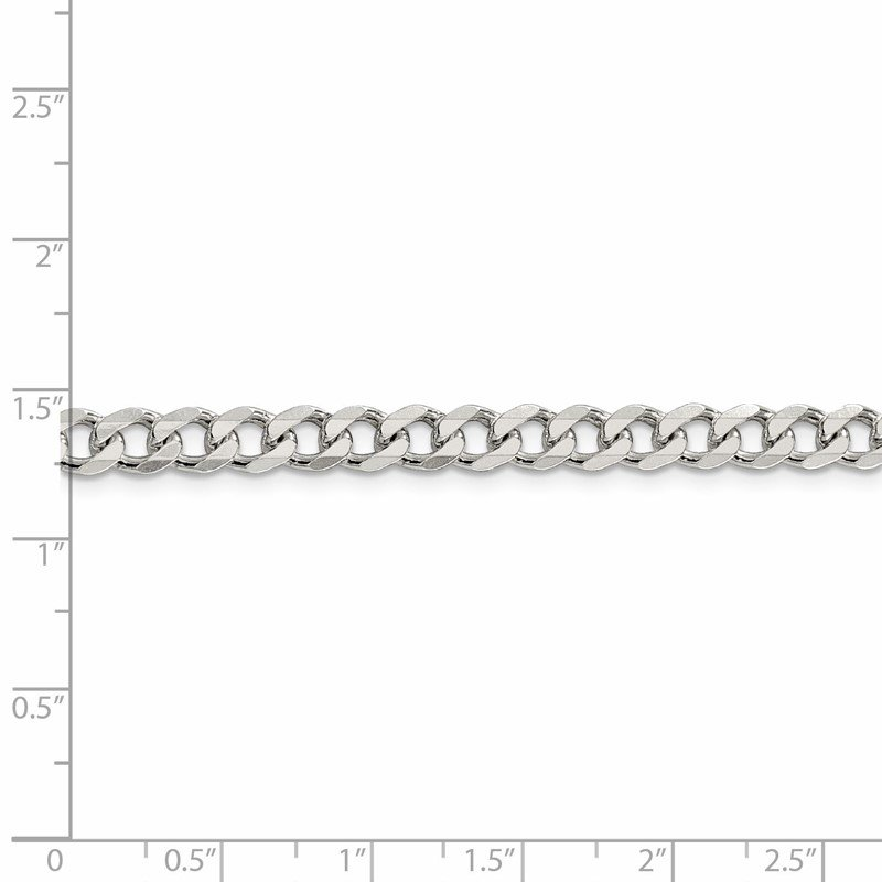 Lester Martin Online Collection Sterling Silver 6mm Curb Chain